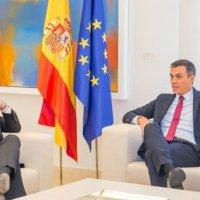 Alberto Fernández se reunió con el Presidente español Pedro Sanchez